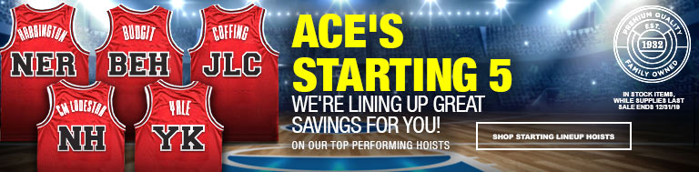 Ace Industries Starting 5 Hoist Sale