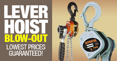 Ace Industries Lever Hoist Blow-Out